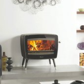 Dovre Vintage 50 Matt Black Wood Burning Stove