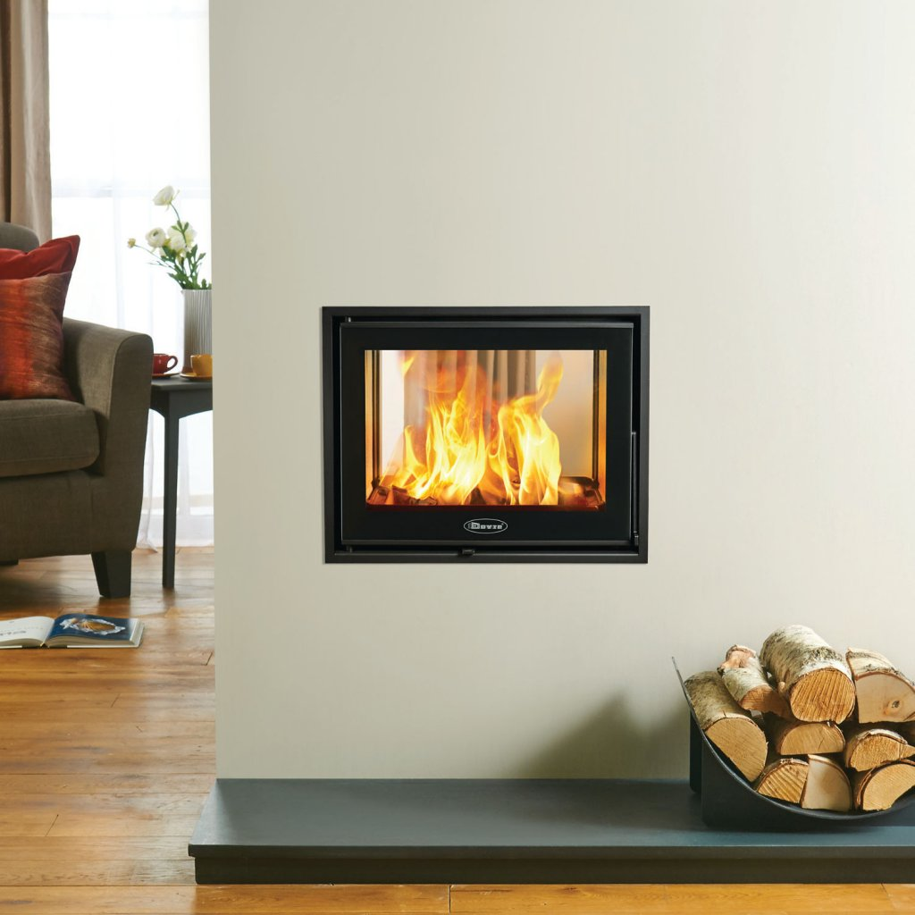 Dovre Zen 102 Wood Burning Inset Fire