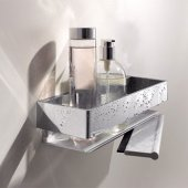 Keuco Bathroom Accessories - Edition 11 Shower Basket With Squeegee