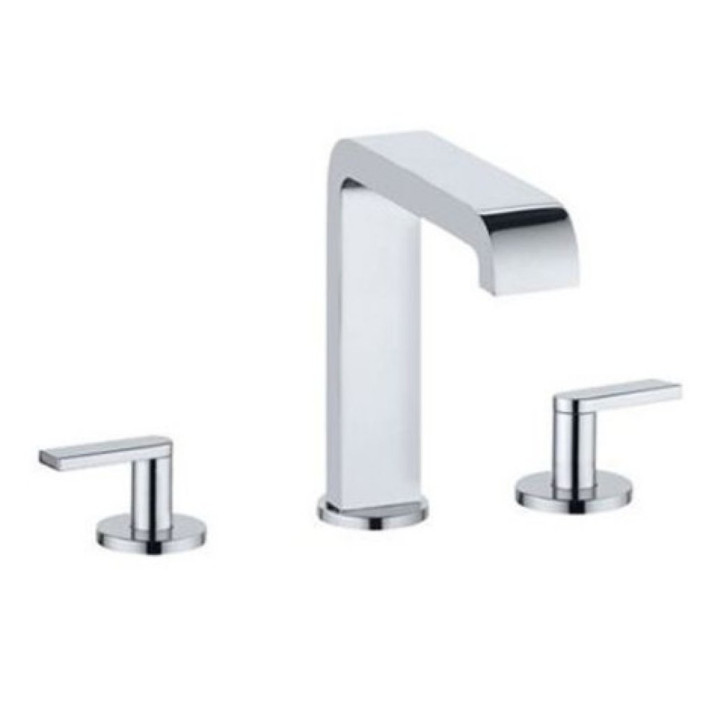 Clearance - Keuco Edition 300 3-Hole Basin Mixer