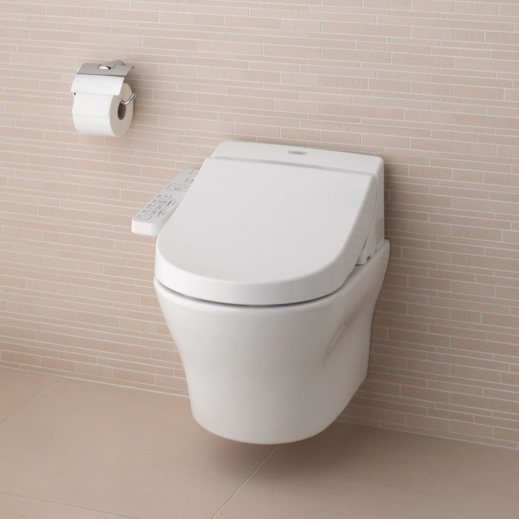 TOTO EK 2.0 Washlet With Hidden Connections - Full Wall Hung ...
