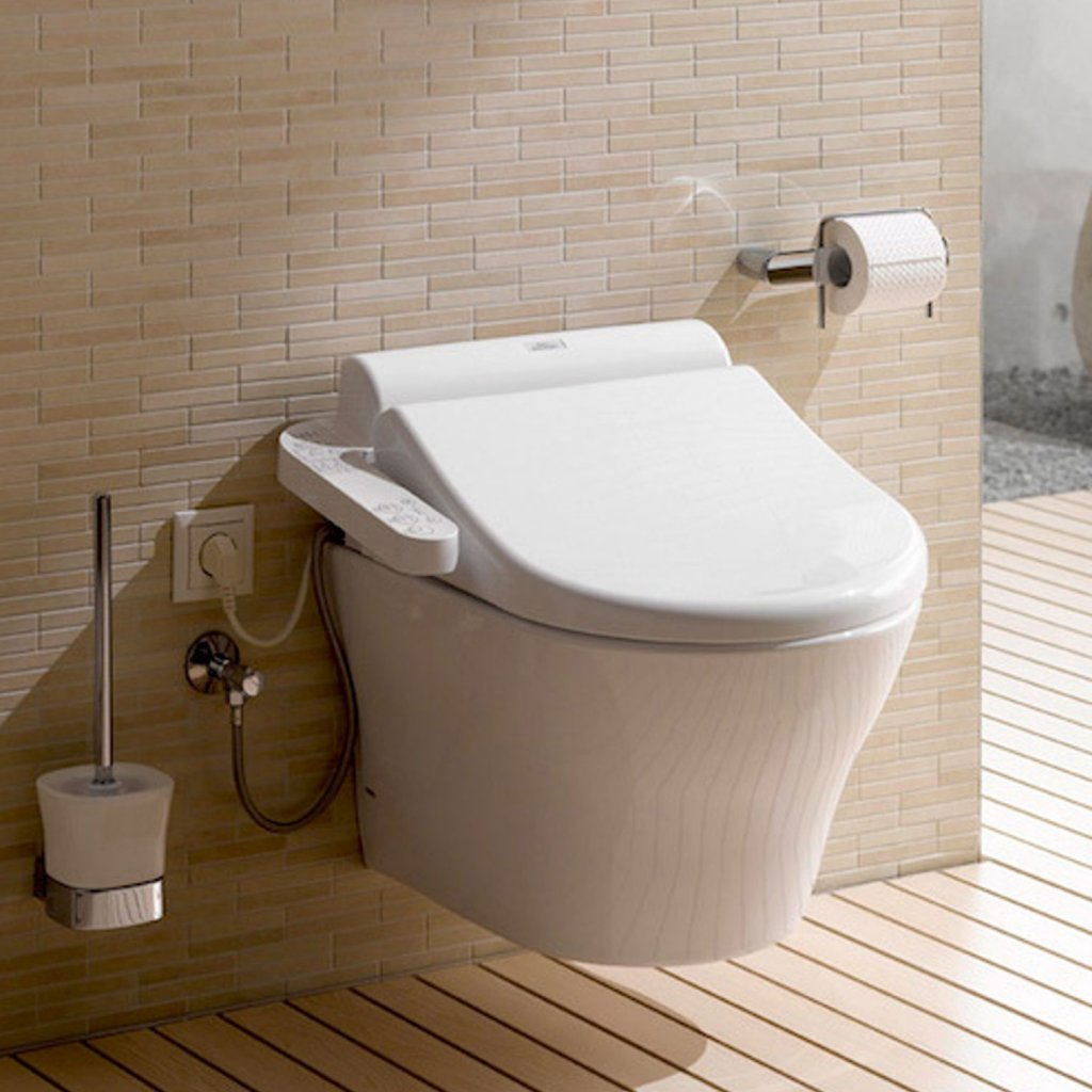 TOTO EK 2.0 Washlet With Side Connections - Full Wall Hung ...