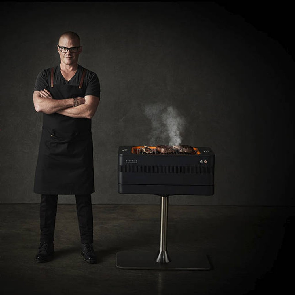 Everdure by Heston Blumenthal - FUSION Electric Ignition Charcoal BBQ