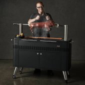 Everdure by Heston Blumenthal - HUB Electric Ignition Charcoal BBQ