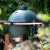 Big Green Egg - XL BBQ Mahogany Nest Bundle