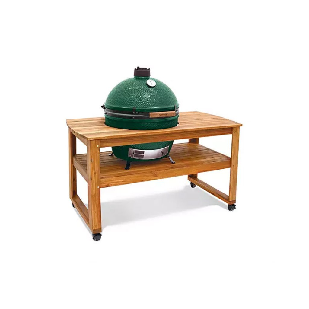 Big Green Egg XL Acacia Hardwood Table With Casters