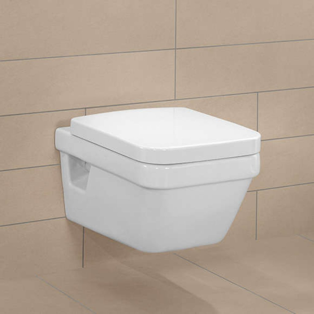 villeroy boch architectura rimless wall hung wc