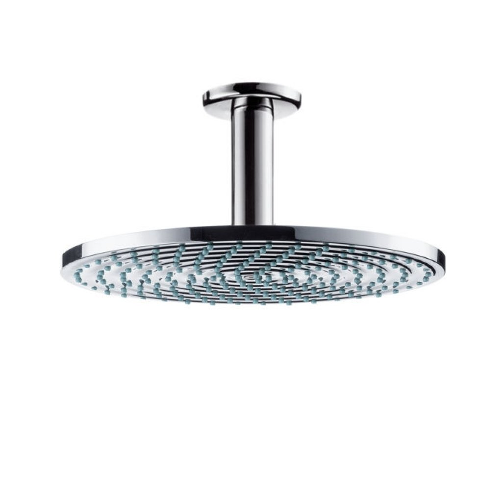 Hansgrohe Raindance Air Plate Overhead Shower 240mm With Ceiling Connector