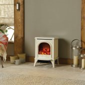 Huntingdon 20 - Ivory - Electric Stove