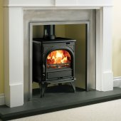Huntingdon 25 Multi Fuel Stove With Optional Tracery Arches