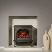 Huntingdon 30 - Matt Black - Electric Stove