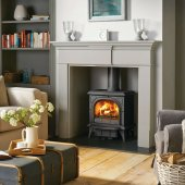 Huntingdon 30 - Matt Black - Multi Fuel Stove