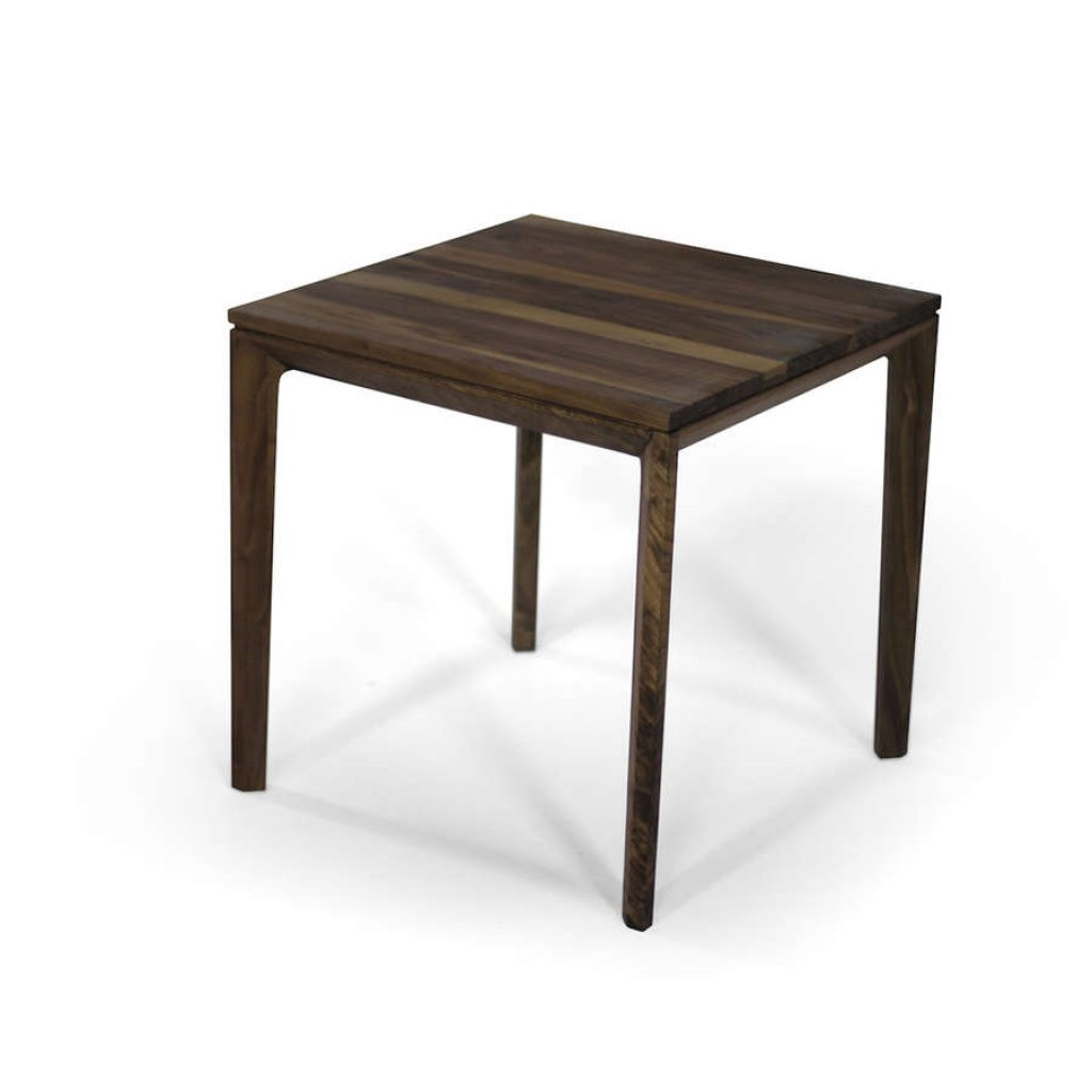Raba' Side Table - Available In Solid Walnut or Oak