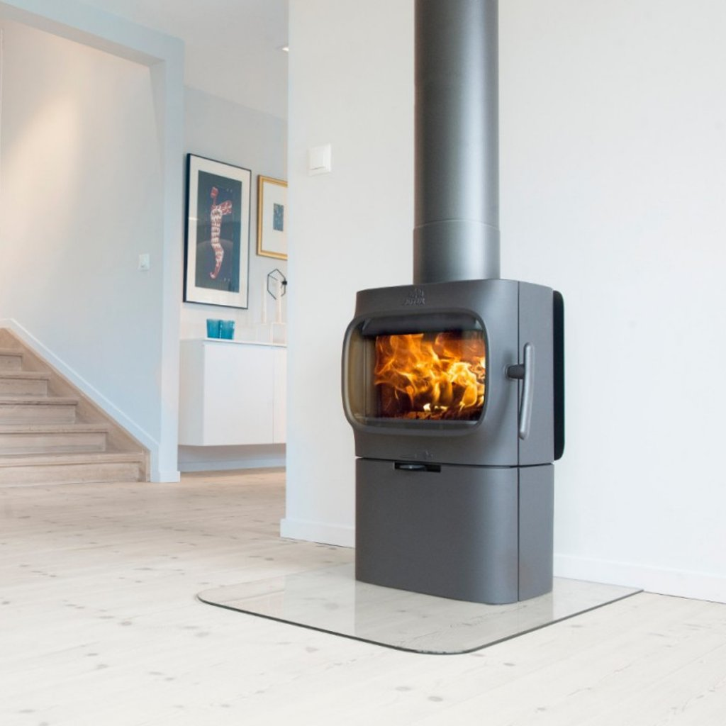 Jotul f105 base unit black a bell wood burning for Stufe jotul usate