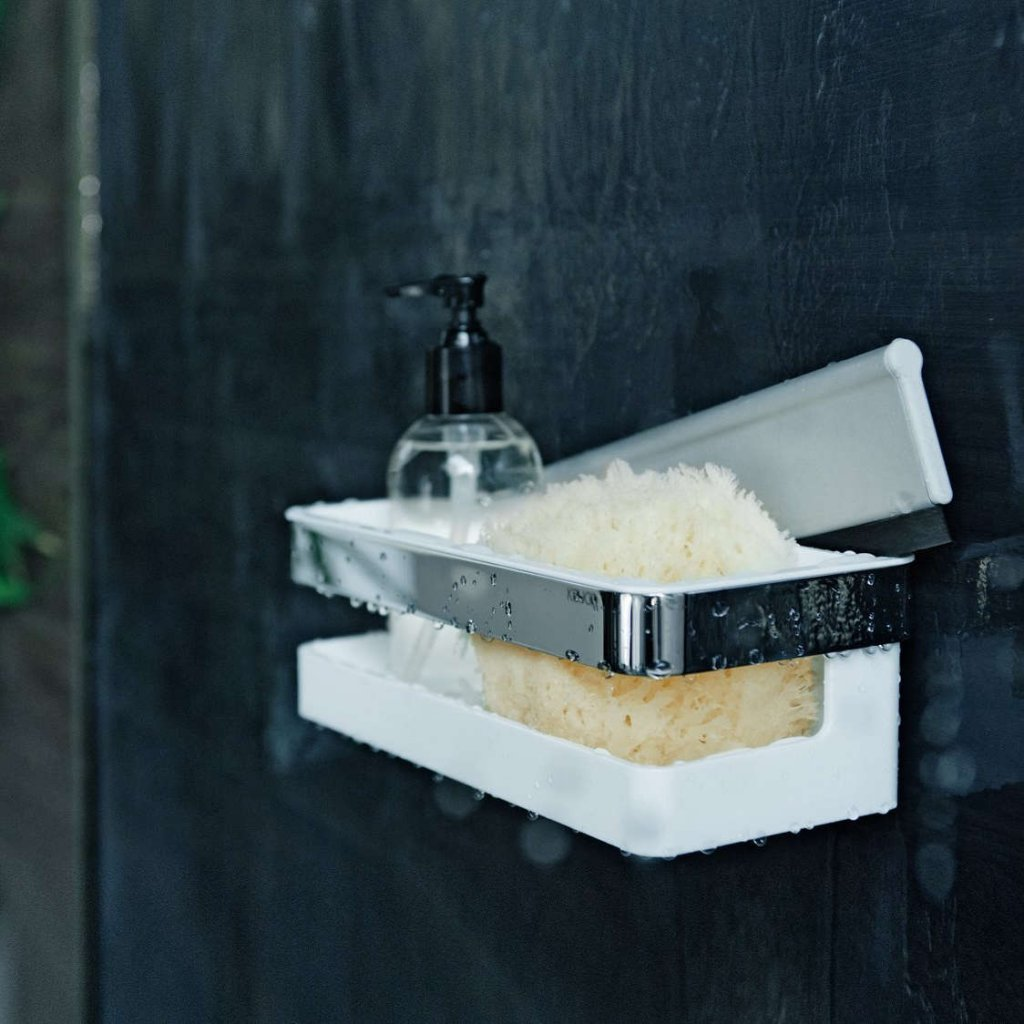 Keuco - Collection Moll Shower Basket With Integrated Squeegee