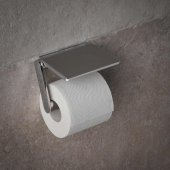 Keuco Accessories - Plan Toilet Paper Holder With Shelf