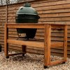 Big Green Egg Large Acacia Hardwood Table With Casters