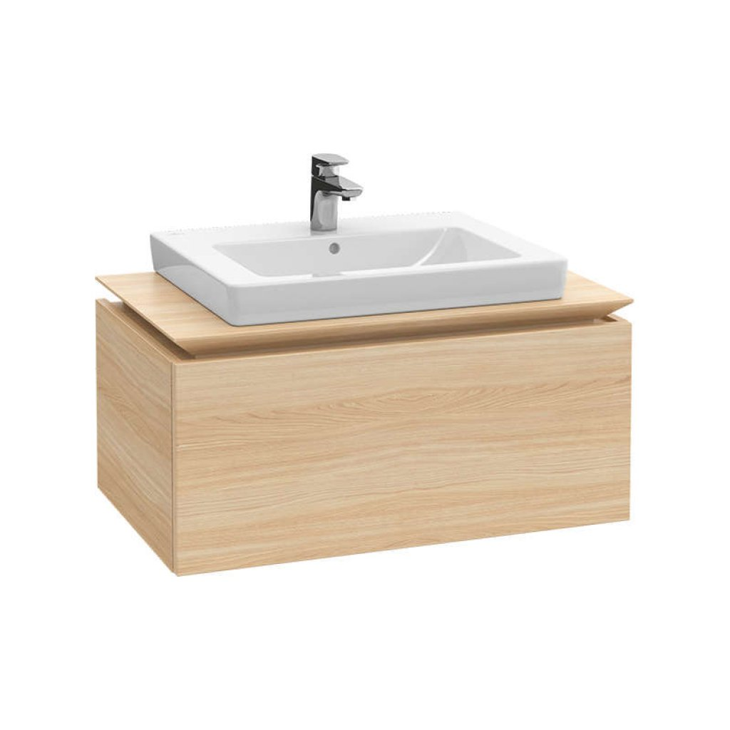 Villeroy & Boch Legato, Single Drawer, 800mm, With Optional Lighting