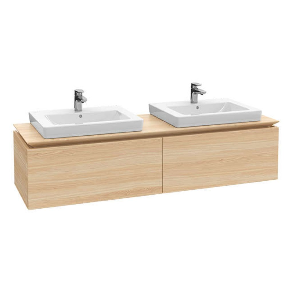 Villeroy & Boch Legato, Single Drawer, 1600mm, With Optional Lighting