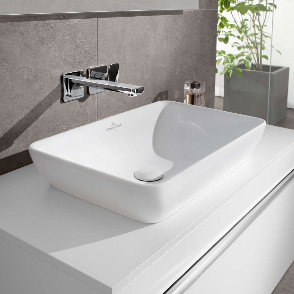 Villeroy & Boch Basins - Venticello Semi Surface Mounted 550 x 360mm