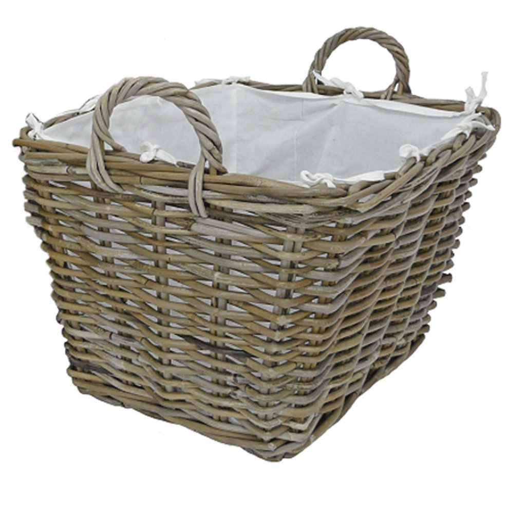 Manor Fireside Furnishings Grosvenor Rattan Basket