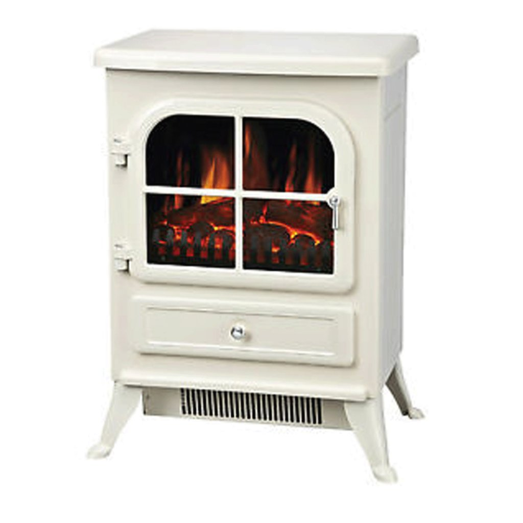 Manor Fireside Furnishings Cream Vista Electric Stove