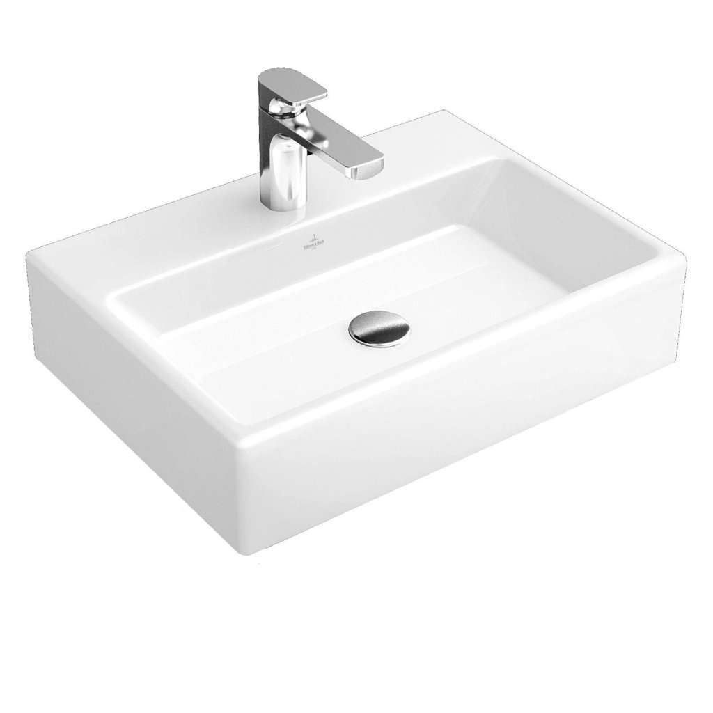Villeroy & Boch Memento Hand Wash Basin With Overflow 600x420mm