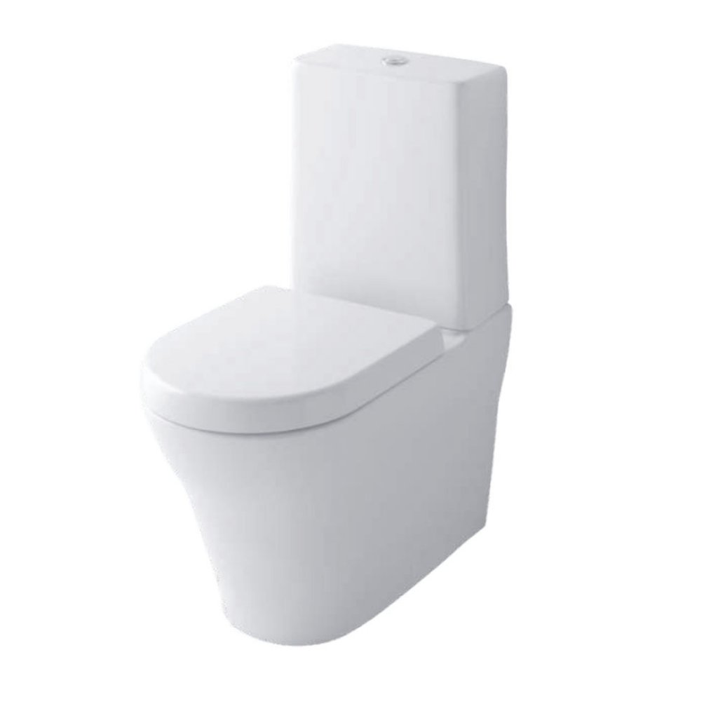 TOTO Toilets - MH Floor Standing Toilet With Optional WC Seat