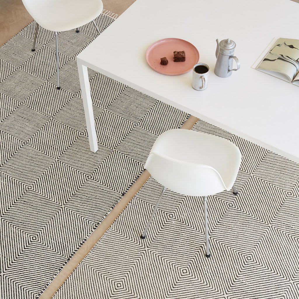 Plantation Rugs - Muse Rectangular Rug Range - Available in 2 Colours & 2 Sizes