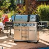 Broil King BBQ - Imperial XL BBQ With 2 Ovens - Rotisserie And A Limited Lifetime Guarantee