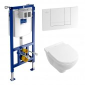 Villeroy & Boch Onovo Wall Hung WC Pan & Frame Pack