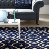 Plantation Rugs - Origins Blue Rectangular Rug Range