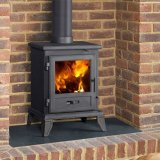 Capital Fireplaces Quadrical 405 Multi Fuel Stove
