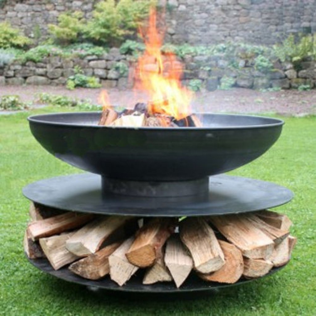 Bell Fire Pits - Ring of Logs Fire Pit