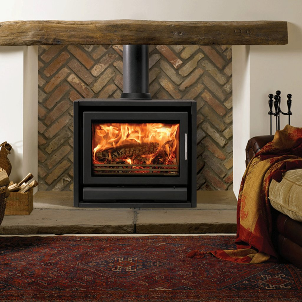 Riva Stoves, Riva F66 Freestanding Wood Burning Stove with Riva Airwash System