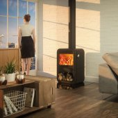 Dovre Stoves, Dovre Rock 350 Wood Burning Stove