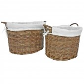 Manor Fireside Furnishings Savoy Rattan Basket