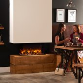 Gazco Skope 70W Electric Outset Fire