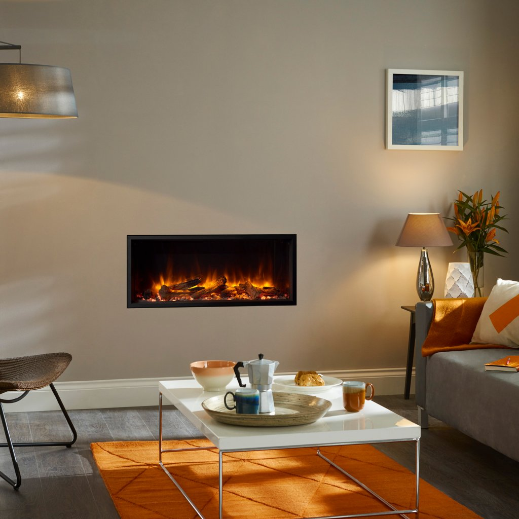 Gazco Fires - Skope 85R Electric Inset Fire - With Thermostatic Remote Control & 2 Year Guarantee