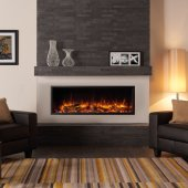 Gazco Fires - Skope 135R Electric Inset Fire - With Thermostatic Remote Control & 2 Year Guarantee