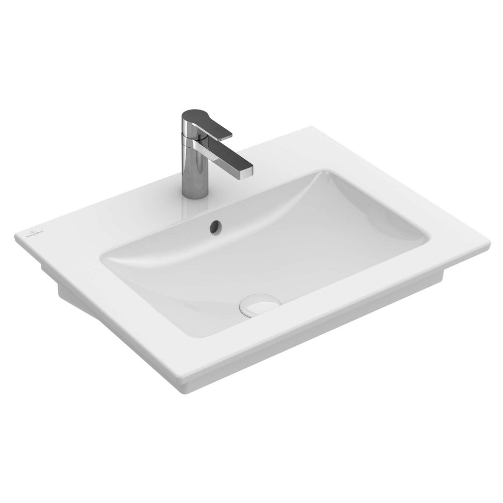 Villeroy & Boch Basins, Venticello 650 x 500mm, Optional CeramicPlus Finish