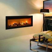 Gazco Gas Fires - Studio 2 Edge Glass Fronted Inset, Balanced Flue