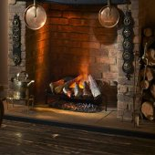 Dimplex Opti-myst Silverton Electric Fire Basket