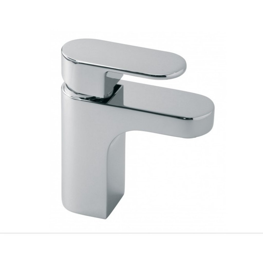 Clearance - Vado Life Mono Basin Mixer - Smooth Bodied Single Lever Deck Mounted Without Basin Waste