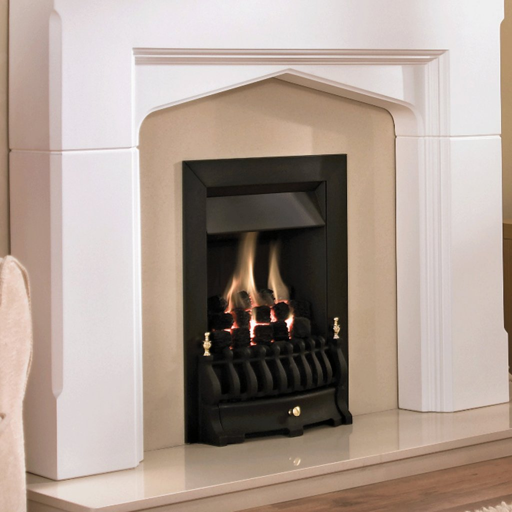 Valor Blenheim Slimline Black Inset Gas Fire