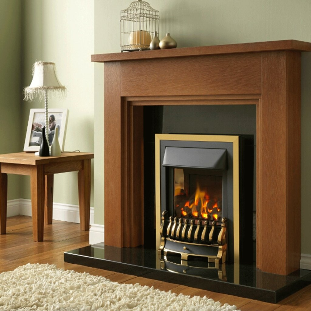 Valor Blenheim Slimline Homeflame Inset Gas Fire