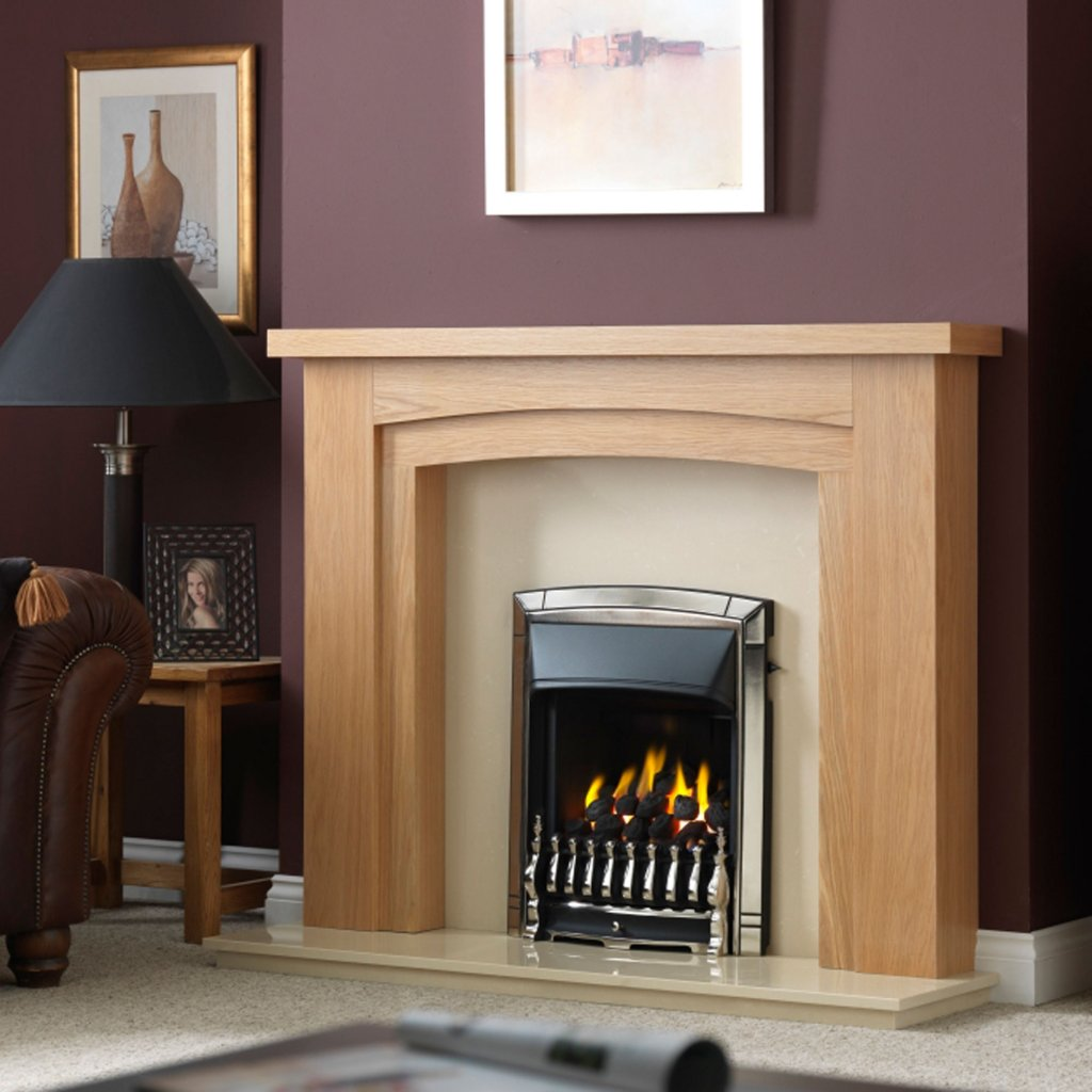 Valor Dream Full Depth Homeflame Pale Gold Inset Gas Fire