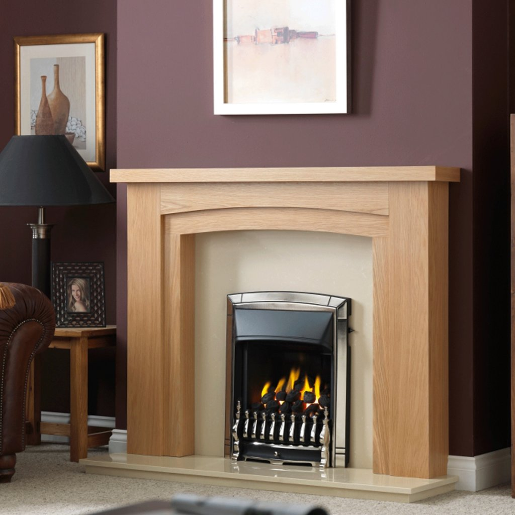 Valor Dream Full Depth Convector Pale Gold Inset Gas Fire