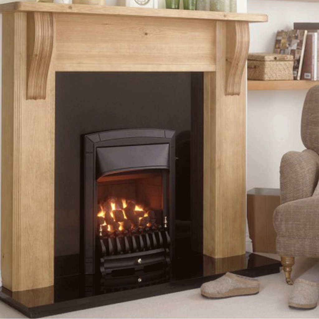 Valor Dream Full Depth Convector Black Inset Gas Fire