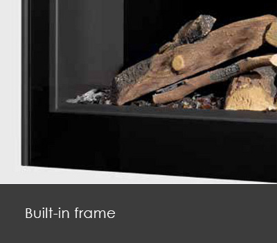 Built-in frame